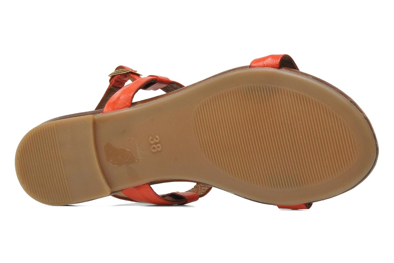 Sandales et nu-pieds Inuovo Sakine Rouge vue haut