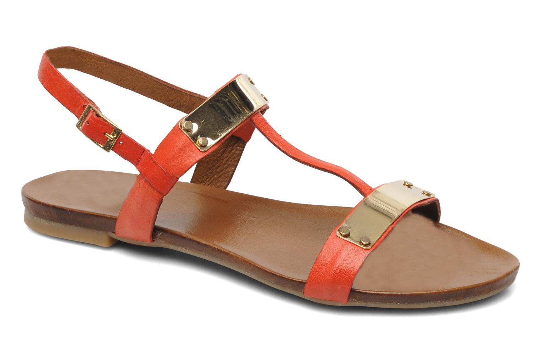 Sandales et nu-pieds Inuovo Sakine Rouge vue détail/paire