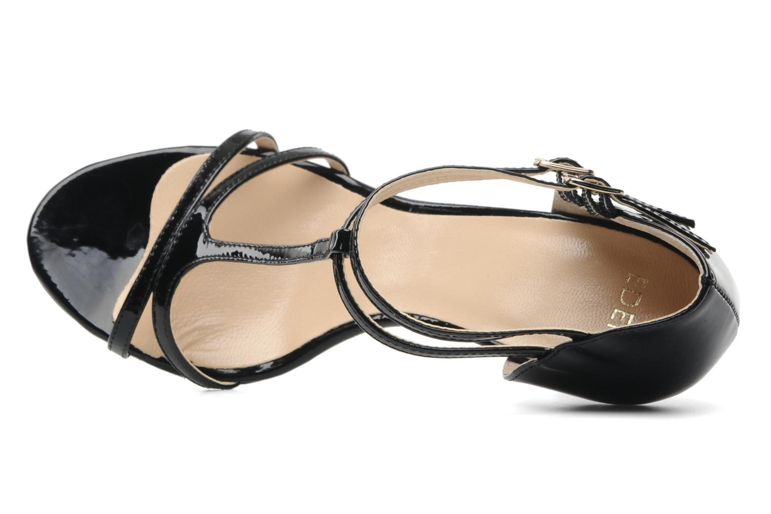 Sandalen Eden Hill Zwart links