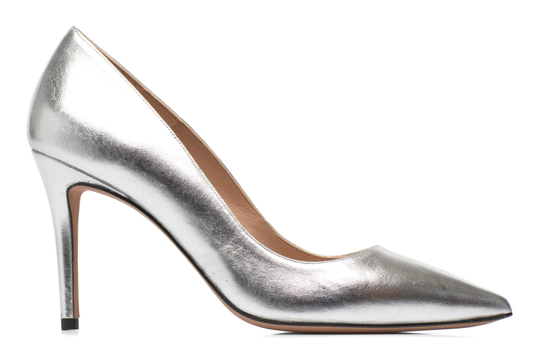 High heels Pura Lopez Astoria Silver back view
