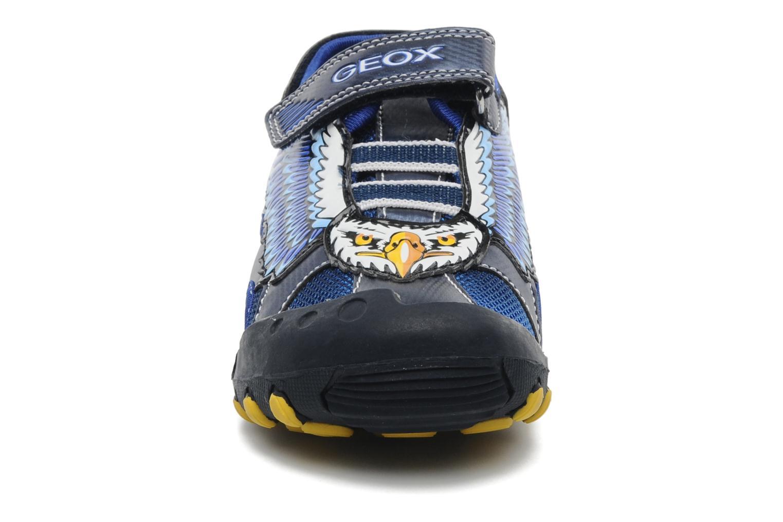 Sandalen Geox J SAND. KYLE A blau schuhe getragen