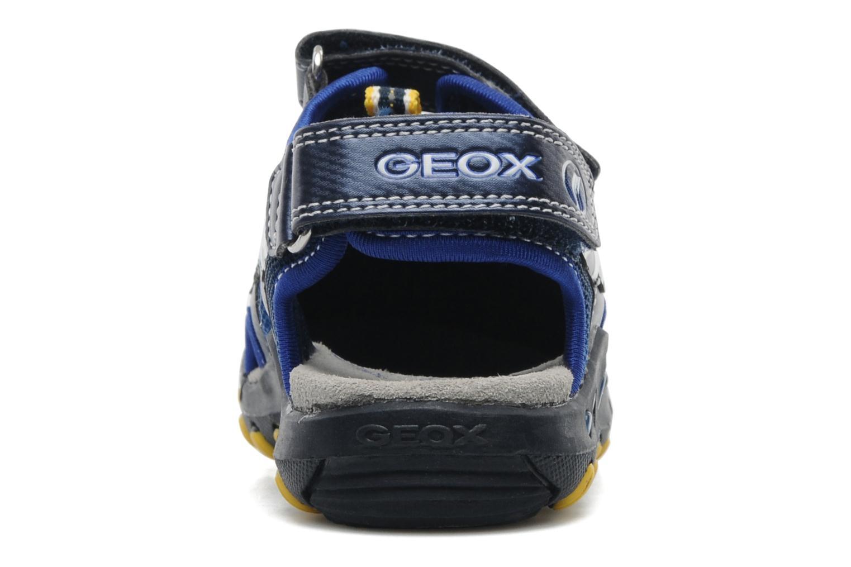 Sandalen Geox J SAND. KYLE A blau ansicht von rechts