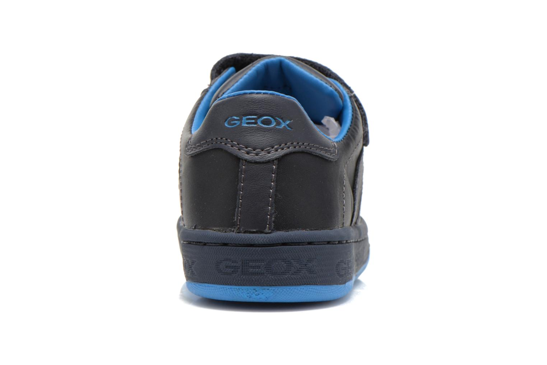 Baskets Geox J Maltin B. A Bleu vue droite