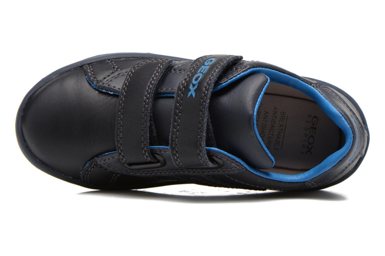 Baskets Geox J Maltin B. A Bleu vue gauche