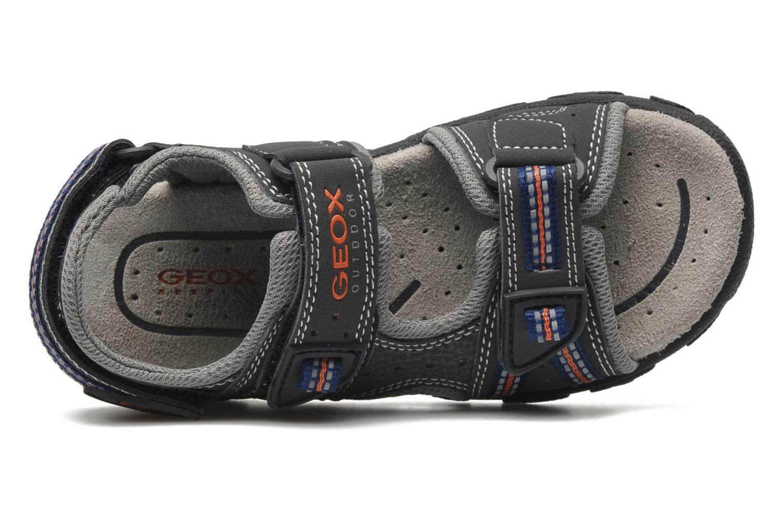 Sandales et nu-pieds Geox J S.STRADA A Gris vue gauche