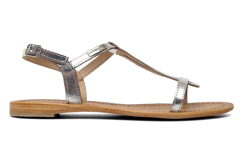 Sandalen Les Tropéziennes par M Belarbi Hamess silber ansicht von hinten