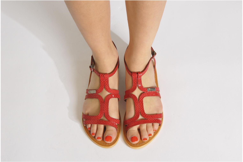Sandalen Les Tropéziennes par M Belarbi Hayate mehrfarbig ansicht von unten / tasche getragen