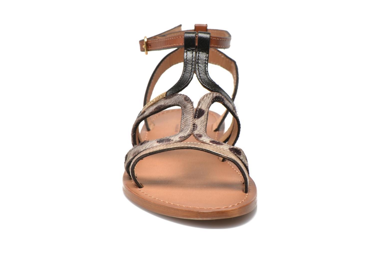 Sandali e scarpe aperte Les Tropéziennes par M Belarbi Hayate Oro e bronzo modello indossato