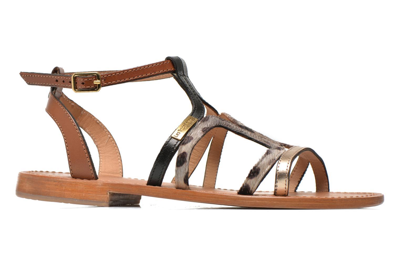 Sandales et nu-pieds Les Tropéziennes par M Belarbi Hayate Or et bronze vue derrière