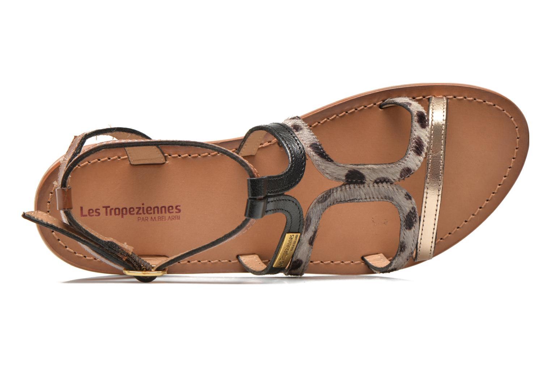 Sandales et nu-pieds Les Tropéziennes par M Belarbi Hayate Or et bronze vue gauche