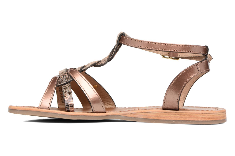 Sandales et nu-pieds Les Tropéziennes par M Belarbi Hams Or et bronze vue face