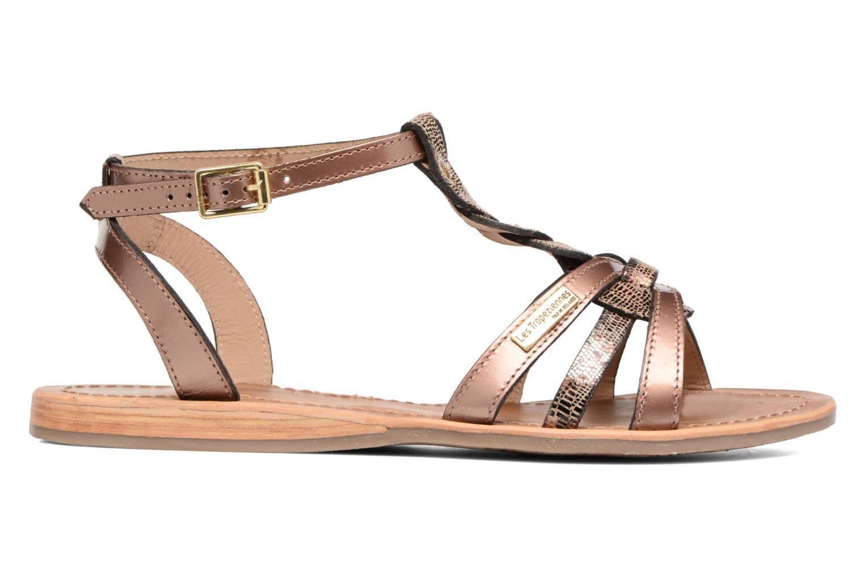 Sandales et nu-pieds Les Tropéziennes par M Belarbi Hams Or et bronze vue derrière