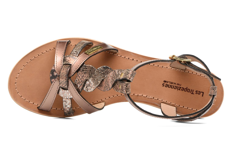 Sandales et nu-pieds Les Tropéziennes par M Belarbi Hams Or et bronze vue gauche
