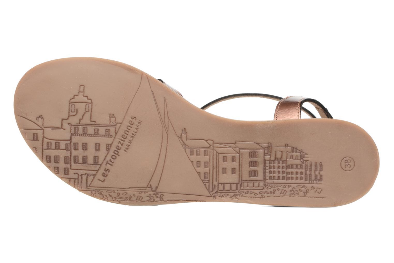 Sandals Les Tropéziennes par M Belarbi Hams Bronze and Gold view from above