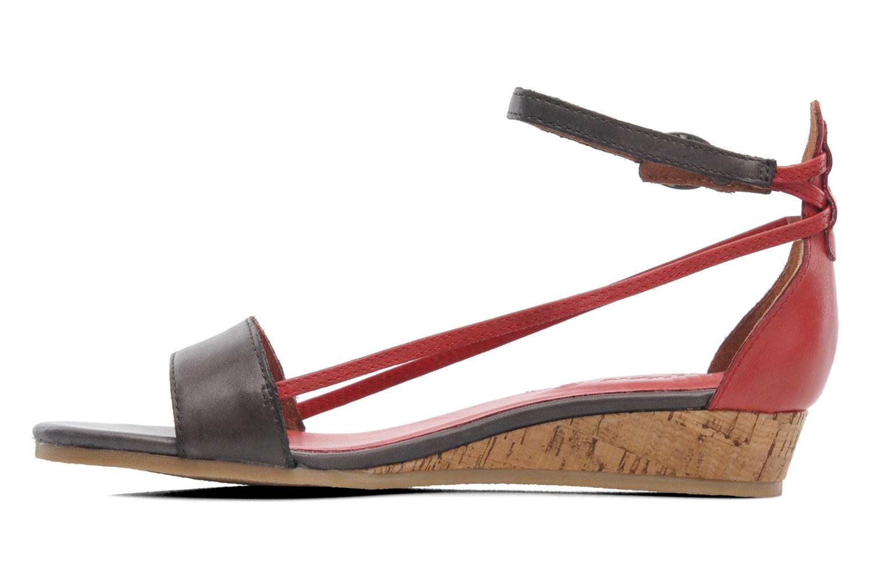 Sandalen Kickers Cocola Bruin voorkant