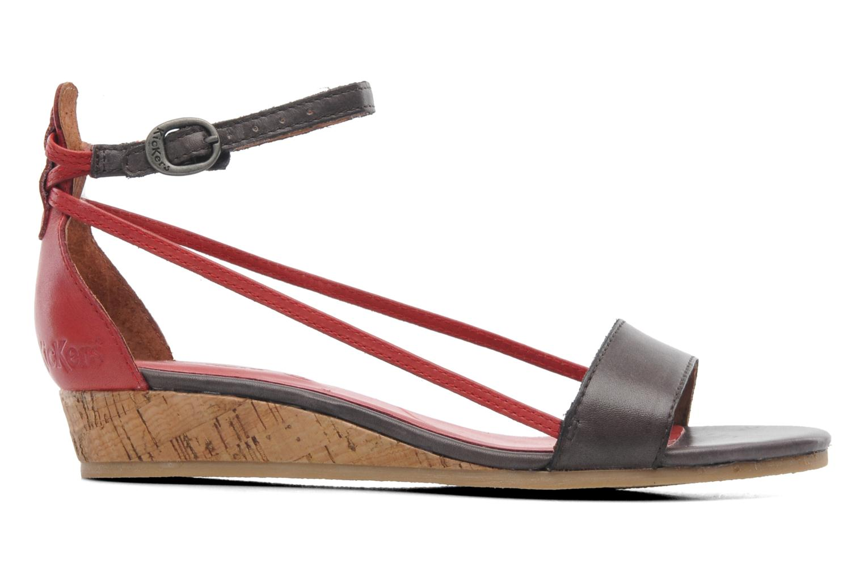 Sandalen Kickers Cocola Bruin achterkant