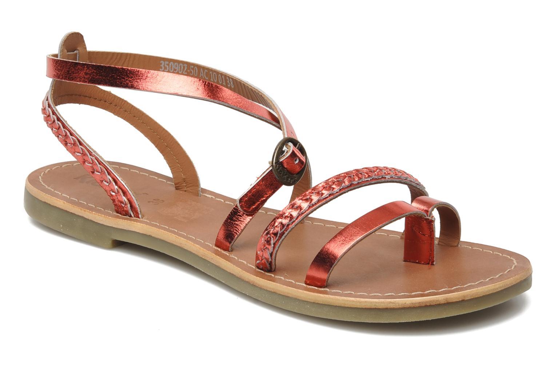 Sandalen Kickers Djapan rot detaillierte ansicht/modell