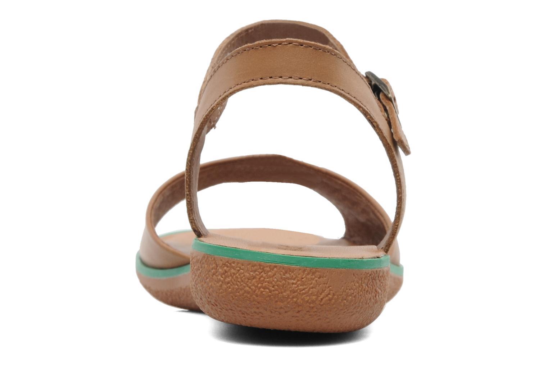 Sandalen Kickers Hypsy Bruin rechts