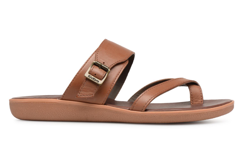 Sandales et nu-pieds Kickers Hypy Marron vue derrière