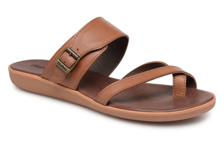 Sandales et nu-pieds Kickers Hypy Marron vue détail/paire