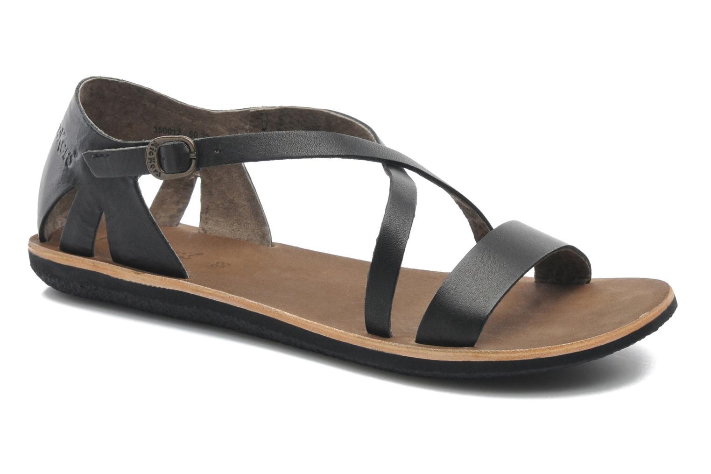Sandales et nu-pieds Kickers Spartame Noir vue détail/paire
