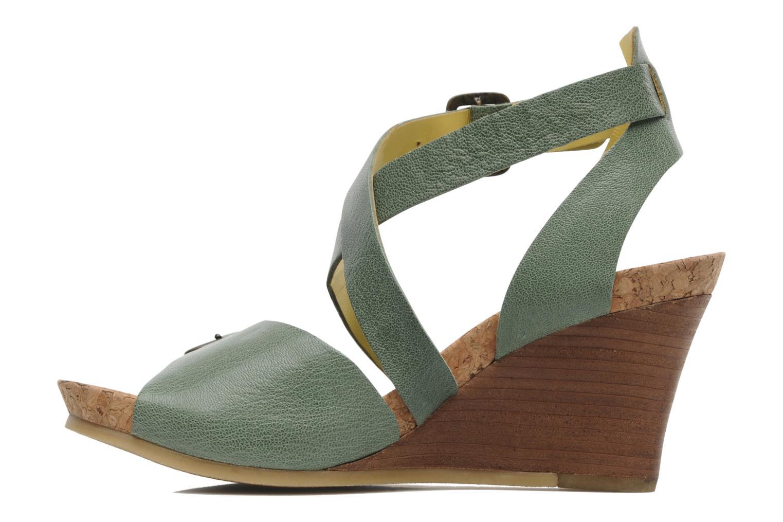 Sandalen Kickers Hava Groen voorkant