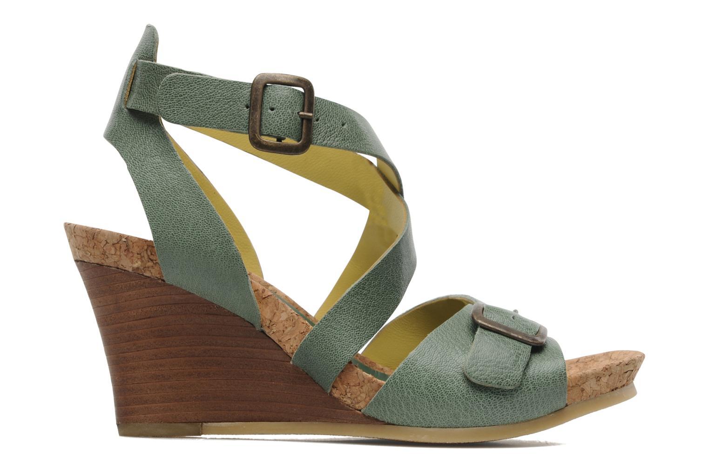 Sandalen Kickers Hava Groen achterkant