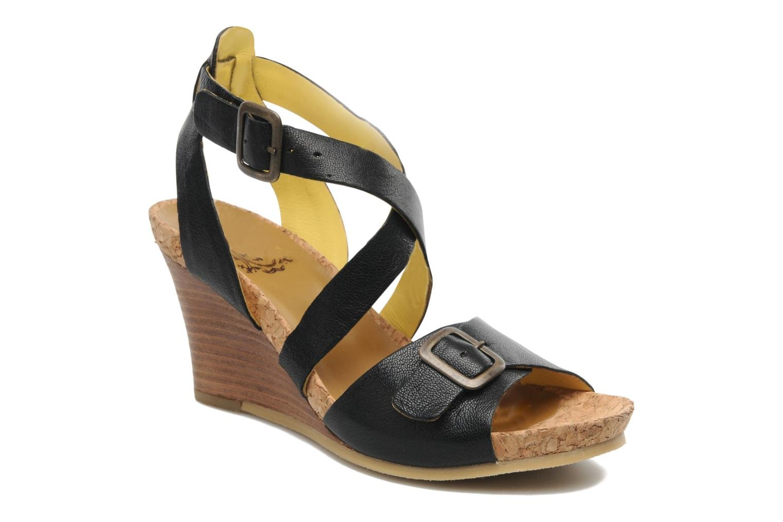 Sandalen Kickers Hava schwarz detaillierte ansicht/modell