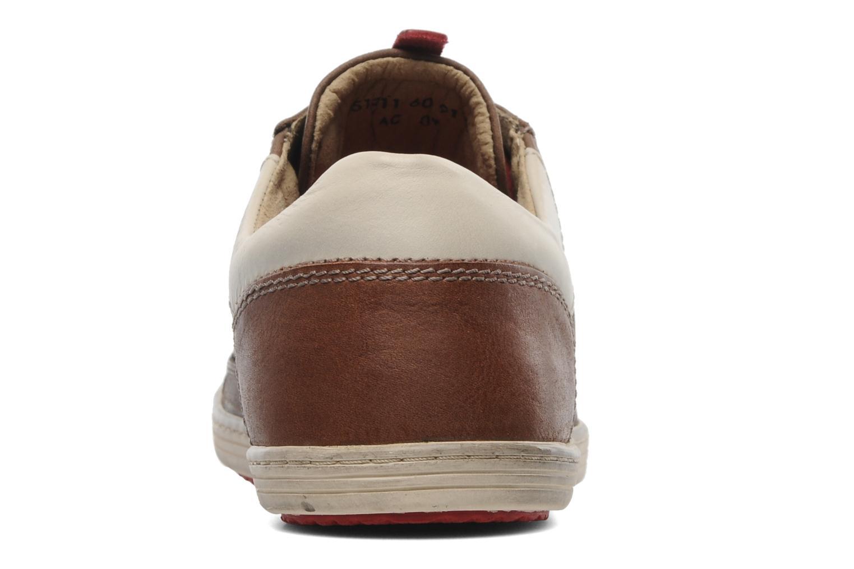 Sneakers Kickers Ambassy Bruin rechts