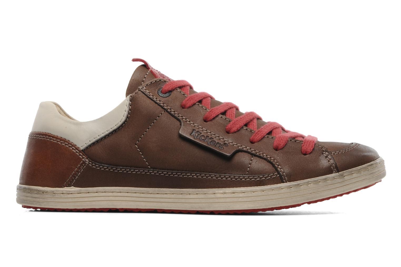 Sneakers Kickers Ambassy Bruin achterkant