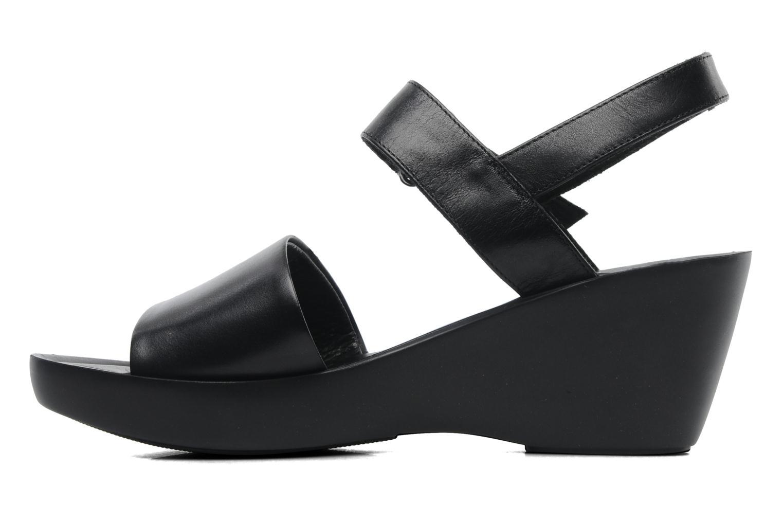 Sandales et nu-pieds Elizabeth Stuart Sonate 304 Noir vue face