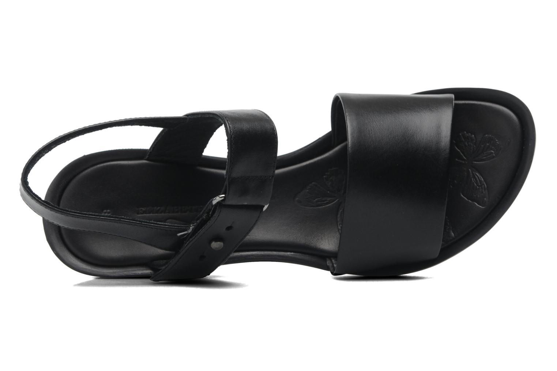 Sandales et nu-pieds Elizabeth Stuart Sonate 304 Noir vue gauche