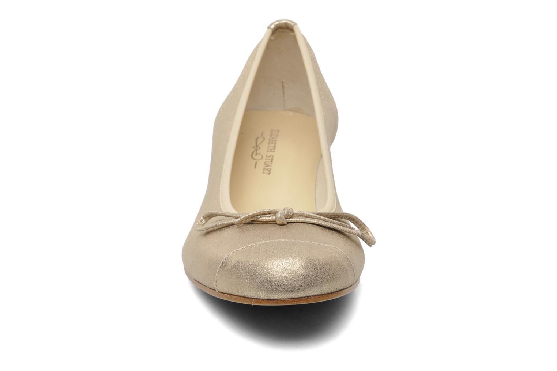 Ballet pumps Elizabeth Stuart Jouti 416 Bronze and Gold model view