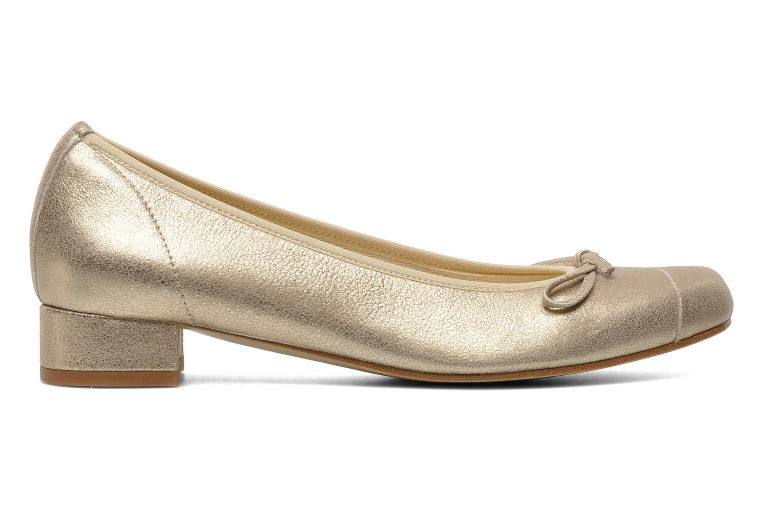 Ballet pumps Elizabeth Stuart Jouti 416 Bronze and Gold back view