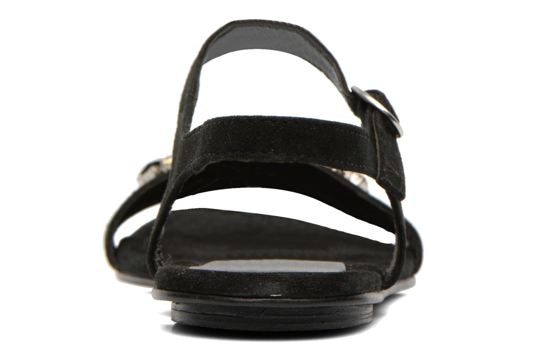 Sandaler Elizabeth Stuart Planta 606 Sort Se fra højre