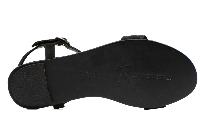 Sandali e scarpe aperte Elizabeth Stuart Planta 606 Nero immagine dall'alto