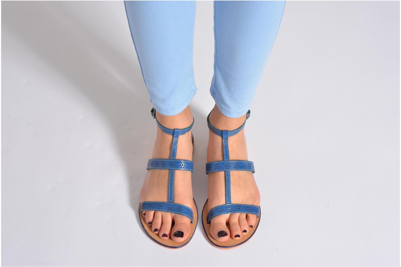Sandales et nu-pieds Elizabeth Stuart Lisa 832 Bleu vue bas / vue portée sac