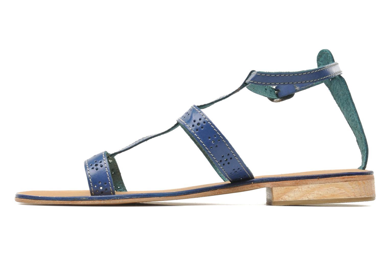 Sandales et nu-pieds Elizabeth Stuart Lisa 832 Bleu vue face