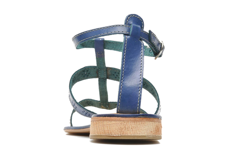 Sandales et nu-pieds Elizabeth Stuart Lisa 832 Bleu vue droite