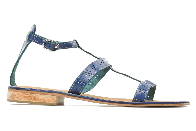 Sandales et nu-pieds Elizabeth Stuart Lisa 832 Bleu vue derrière