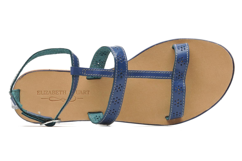 Sandales et nu-pieds Elizabeth Stuart Lisa 832 Bleu vue gauche