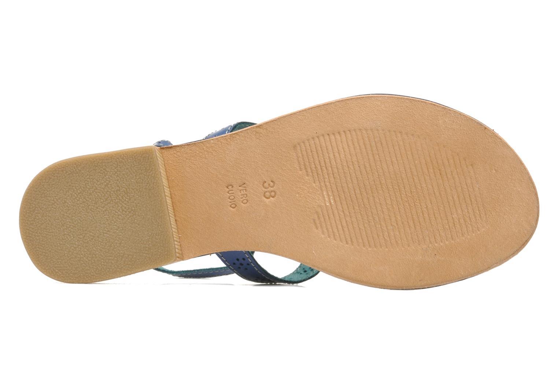 Sandales et nu-pieds Elizabeth Stuart Lisa 832 Bleu vue haut