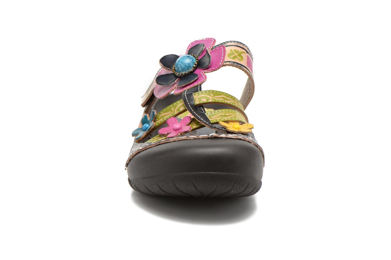 Mules et sabots Laura Vita Phenix Bleu vue portées chaussures