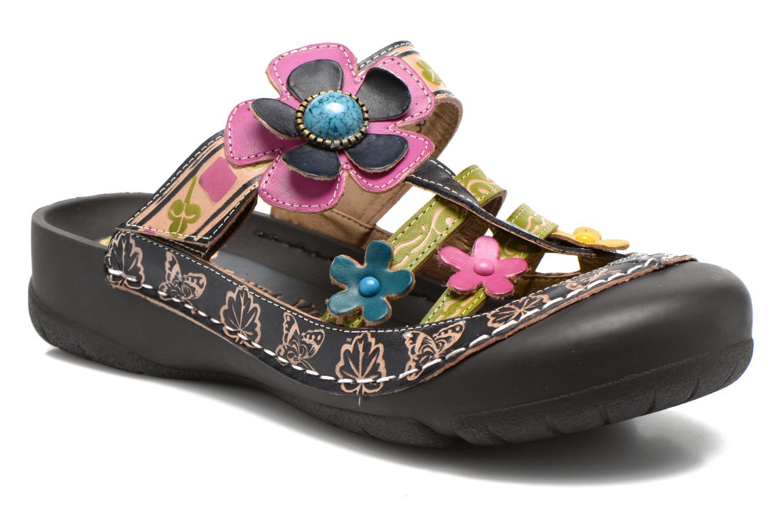Clogs og træsko Laura Vita Phenix Blå detaljeret billede af skoene