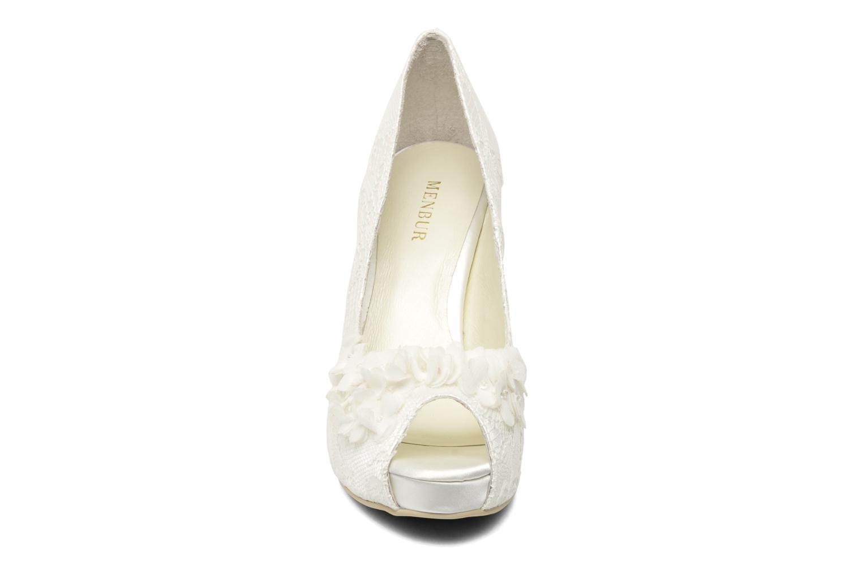 Escarpins Menbur Rea Blanc vue portées chaussures