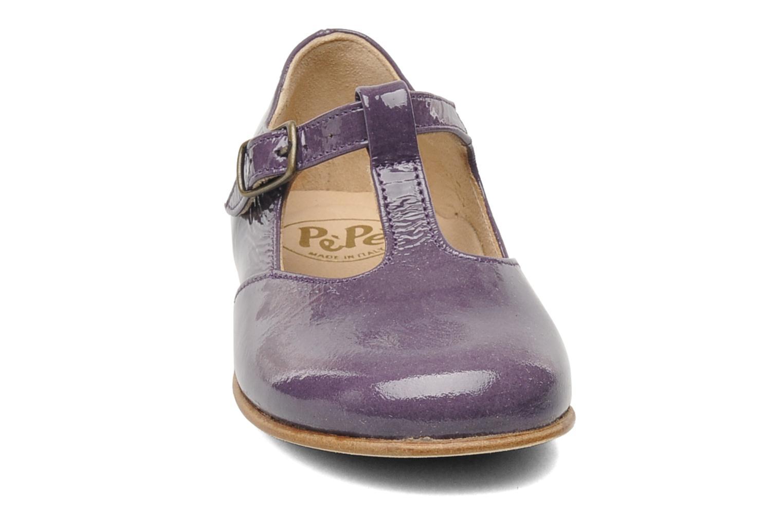 Ballerines PèPè Sébestier Violet vue portées chaussures