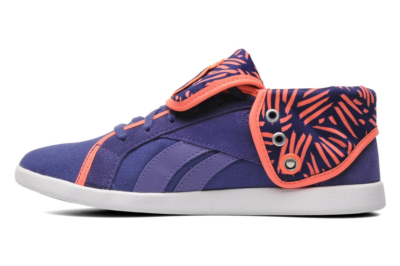 Sneakers Reebok Top Down Snaps Txt Paars voorkant