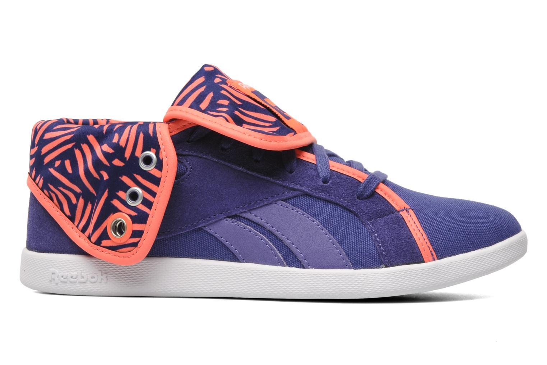 Sneakers Reebok Top Down Snaps Txt Paars achterkant