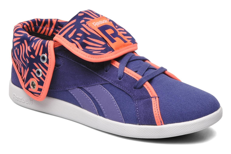 Sneakers Reebok Top Down Snaps Txt Paars detail