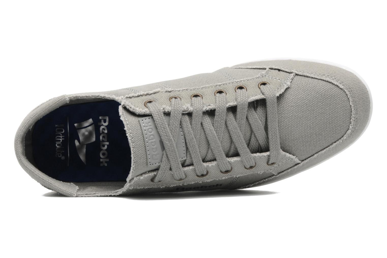 Sneaker Reebok Reebok Royal Deck grau ansicht von links